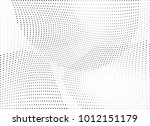 abstract halftone wave dotted... | Shutterstock .eps vector #1012151179