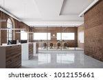 brick meeting room interior... | Shutterstock . vector #1012155661
