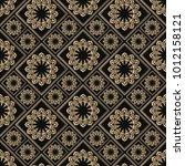 islamic vector design. seamless ... | Shutterstock .eps vector #1012158121