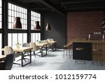 brick and black loft bar... | Shutterstock . vector #1012159774