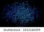 dark blue vector modern... | Shutterstock .eps vector #1012160359
