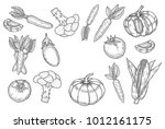 farmers market badge.... | Shutterstock .eps vector #1012161175