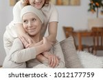 family member supporting sick...   Shutterstock . vector #1012177759