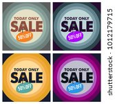 sale discount banner promotion | Shutterstock .eps vector #1012179715