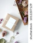 Small photo of event prop and gift box