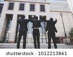 hand coordination of team...   Shutterstock . vector #1012213861