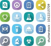 flat vector icon set   search... | Shutterstock .eps vector #1012215709