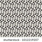 vector seamless pattern. modern ... | Shutterstock .eps vector #1012219207