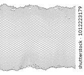 black fisherman rope net vector ... | Shutterstock .eps vector #1012223179