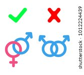 banned gay marriage icons