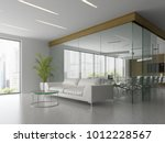 interior of reception and... | Shutterstock . vector #1012228567