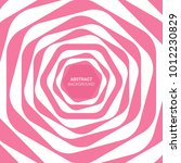 abstract pink line background.... | Shutterstock .eps vector #1012230829
