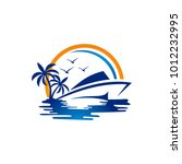 vector yacht club logo design...