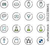 line vector icon set   vial... | Shutterstock .eps vector #1012238641