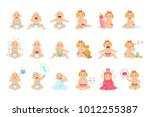 reasons baby boy and girl is... | Shutterstock .eps vector #1012255387
