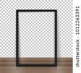 vector picture frame mockups. | Shutterstock .eps vector #1012263391