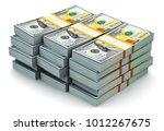 creative abstract business ... | Shutterstock . vector #1012267675