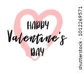 hand drawn lettering for... | Shutterstock .eps vector #1012269571