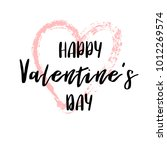hand drawn lettering for... | Shutterstock .eps vector #1012269574