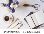 spring gardener plan or to do... | Shutterstock . vector #1012282681