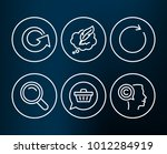 set of shopping cart  reload... | Shutterstock .eps vector #1012284919