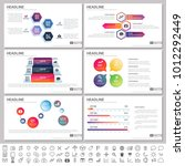 modern elements of infographics ... | Shutterstock .eps vector #1012292449