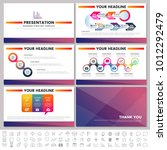 modern elements of infographics ... | Shutterstock .eps vector #1012292479