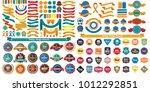 vintage retro vector logo for... | Shutterstock .eps vector #1012292851