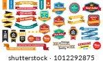 vintage retro vector logo for... | Shutterstock .eps vector #1012292875
