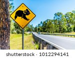 Koala Road Crossing Sign...