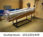 deceased in mortuary room   Shutterstock . vector #1012301449