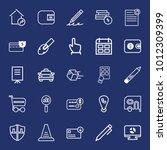 business outline vector icon... | Shutterstock .eps vector #1012309399