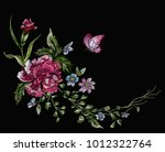 embroidery floral native...   Shutterstock .eps vector #1012322764