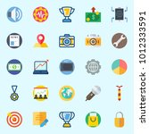 icons set about digital... | Shutterstock .eps vector #1012333591