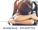 asian children cute or kid girl ... | Shutterstock . vector #1012337731