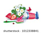 vector image of the composition ... | Shutterstock .eps vector #1012338841