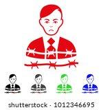 dolor businessman arrest vector ... | Shutterstock .eps vector #1012346695