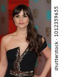 Small photo of LONDON - FEB 8, 2015: Charlotte Riley attends the EE British Academy Film Awards at The Royal Opera House in London