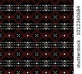 seamless geometric pattern of... | Shutterstock .eps vector #1012360684