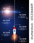 business concept of timeline... | Shutterstock .eps vector #1012366609