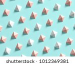 punchy pastels abstract... | Shutterstock . vector #1012369381