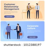 banners on theme of business ... | Shutterstock .eps vector #1012388197