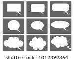 dialog box icon  chat cartoon...   Shutterstock .eps vector #1012392364