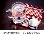 water   salt sodium chloride on ... | Shutterstock . vector #1012394437