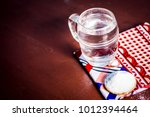 water   salt sodium chloride on ... | Shutterstock . vector #1012394464