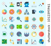 icons set about marketing with...   Shutterstock .eps vector #1012395961
