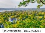 overhead view of hudson ... | Shutterstock . vector #1012403287