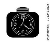 alarm clock icon | Shutterstock .eps vector #1012413025
