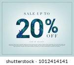 20  lettering handmade with... | Shutterstock .eps vector #1012414141