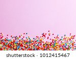 Pink Background  Confectionery...